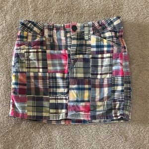 Old Navy multi- colored skirt girls size 12